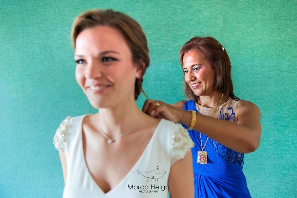Boda en Hotel Pino Alto vestido novia